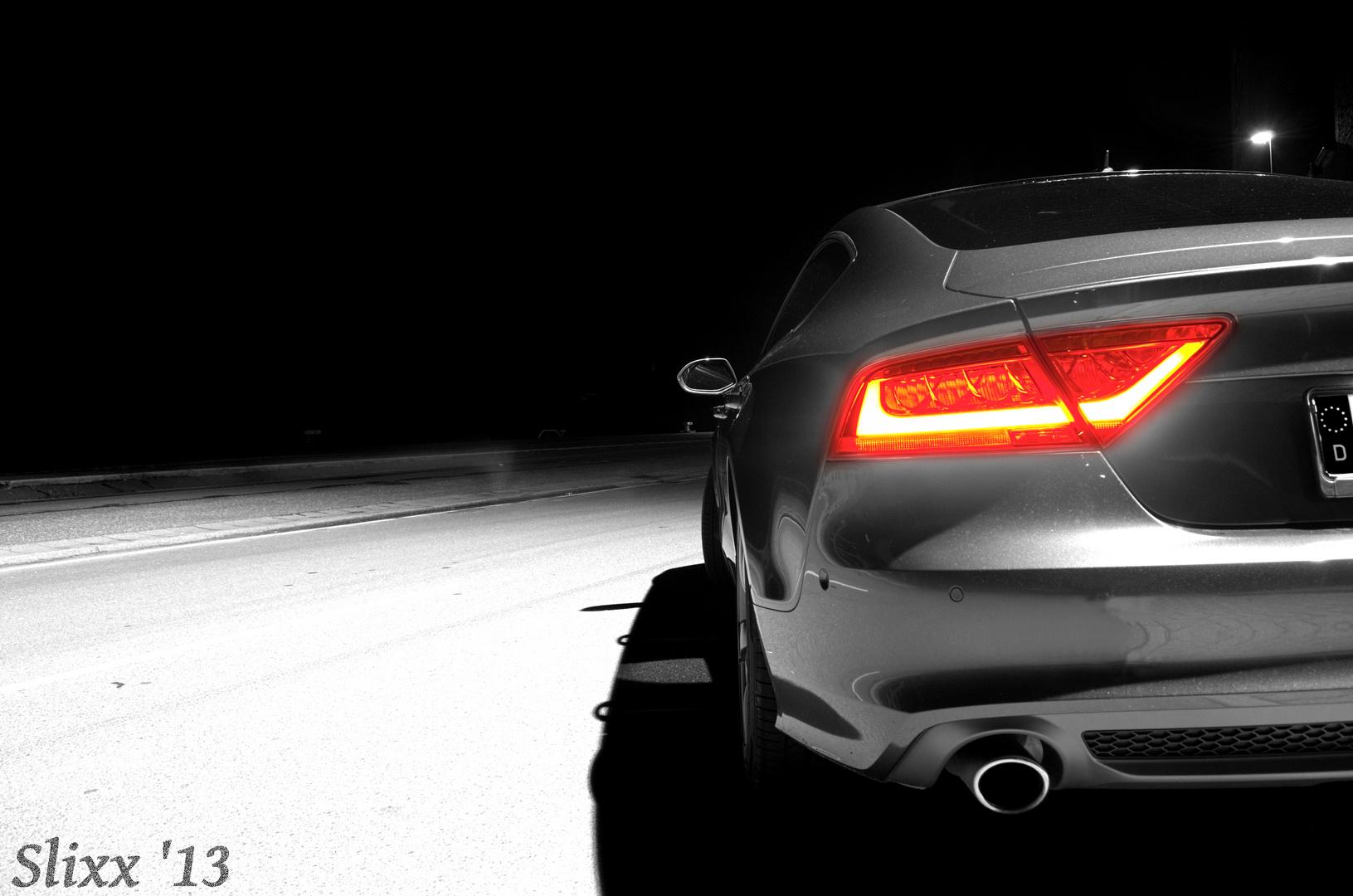 Audi A7 colorkey