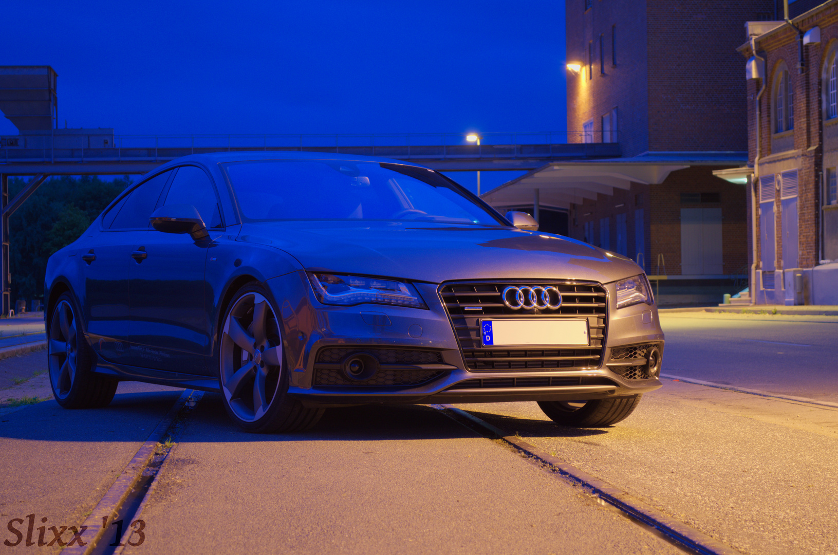Audi A7 in Farbe