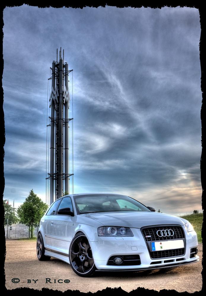 Audi auf dem Leipziger Messegelände