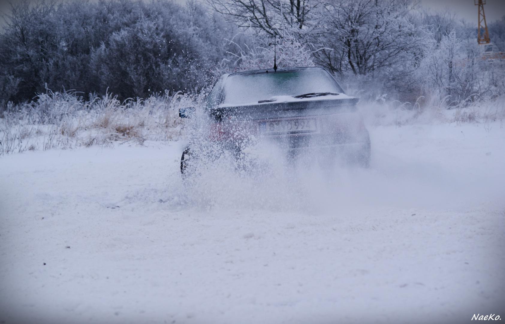 Audi im Drift