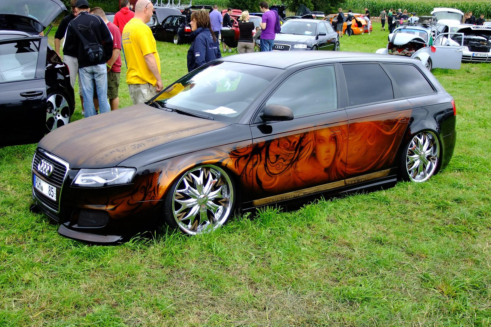Audi im neuen Design