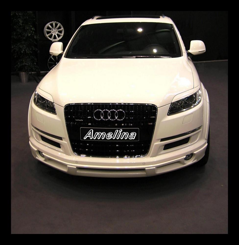 Audi in weiß