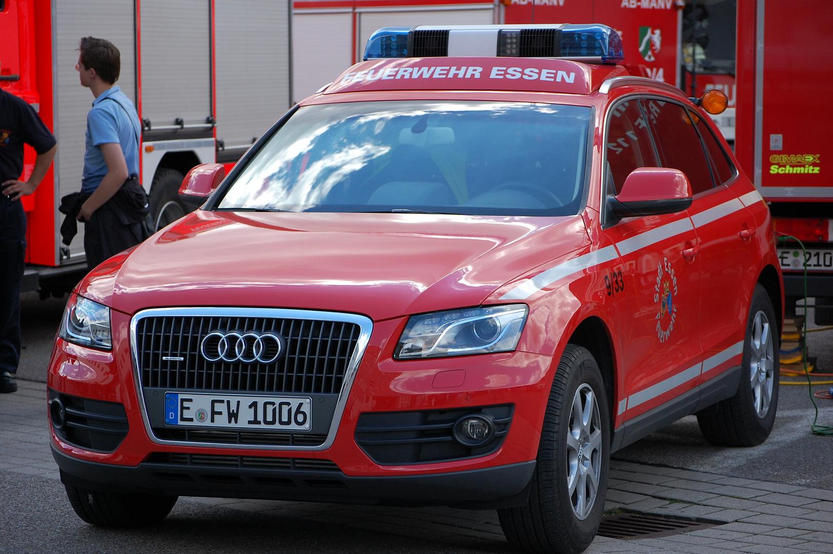 Audi Q5 Feuerwehr Essen
