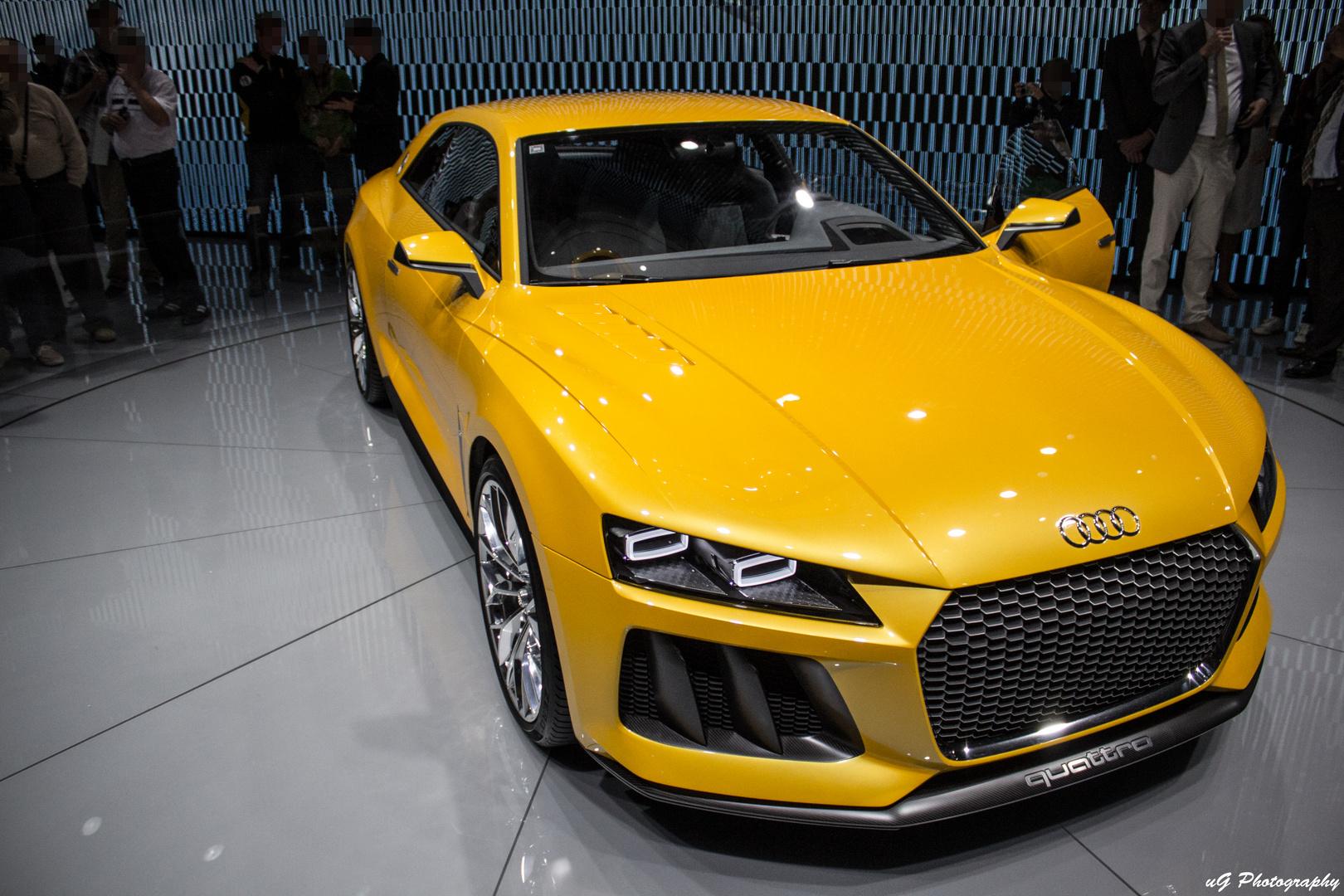 Audi. Quattro.