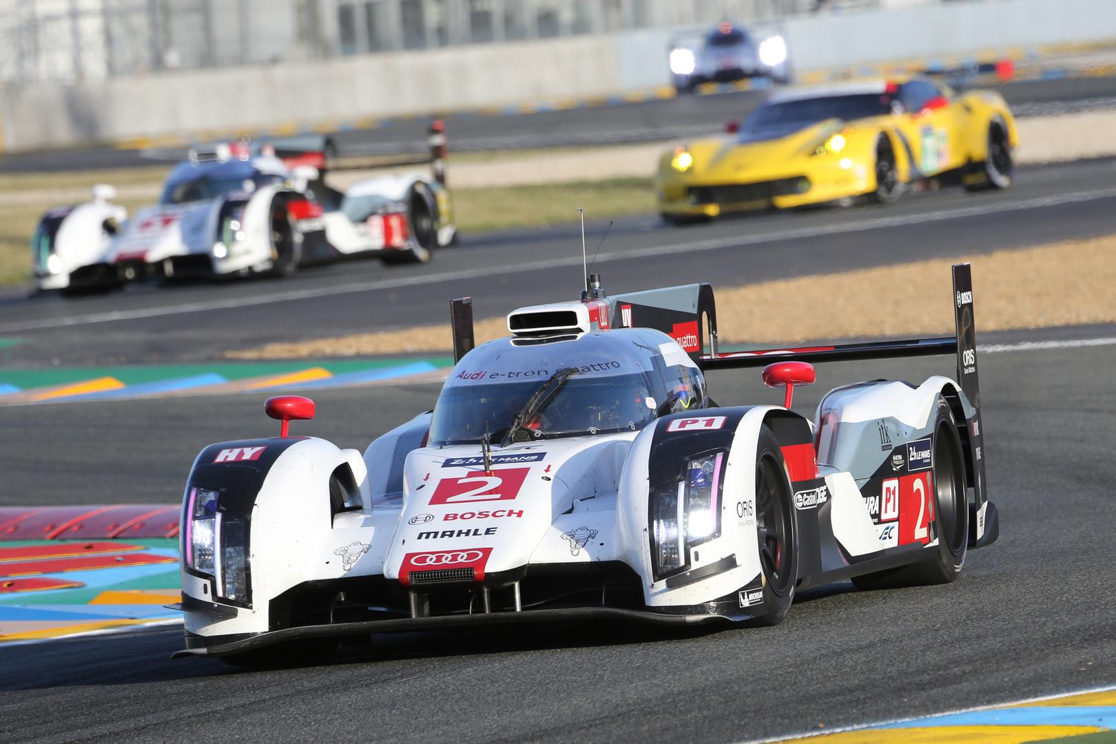 Audi R18 e-tron Quattro Le Mans Winner 2014
