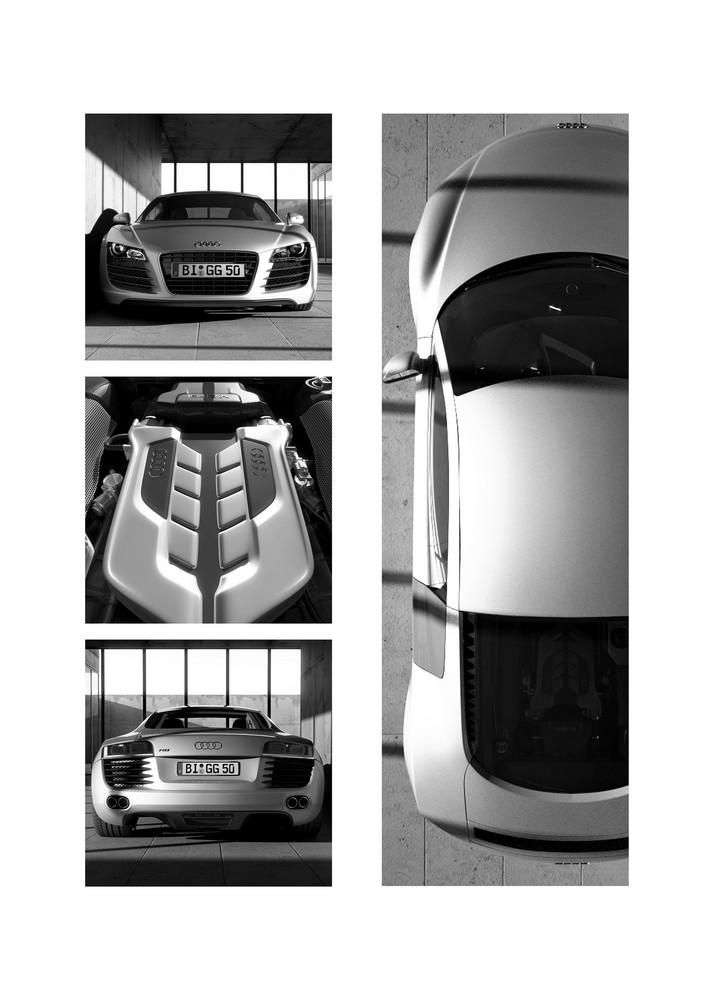 """Audi R8 """"Bauhaus Style"""""""