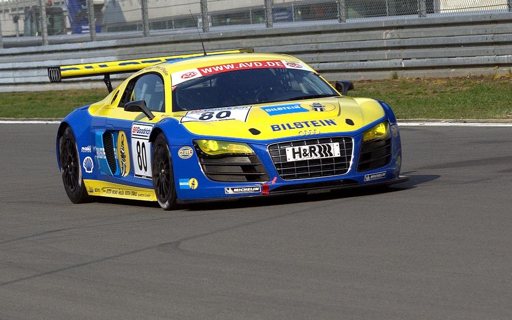 """Audi R8 """"Le Mans"""" beim VLN letztes WE am Nürburgring"""