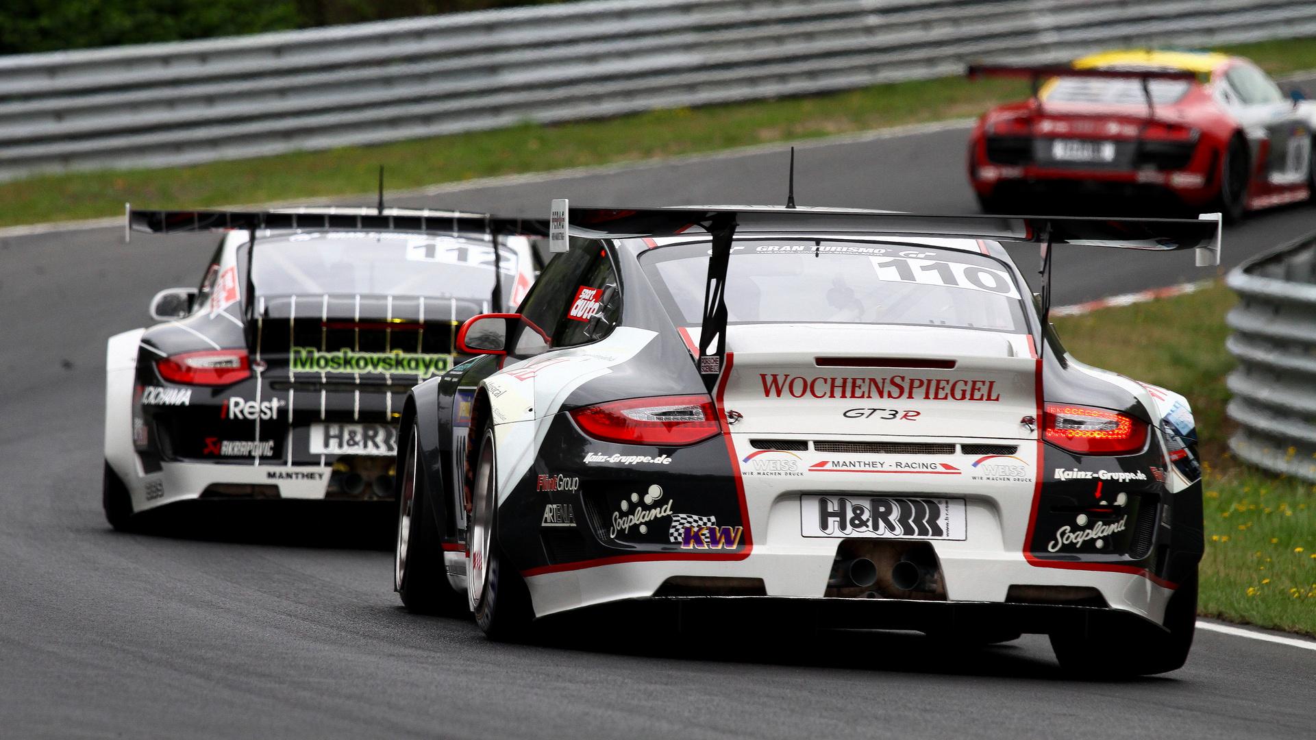 Audi R8 LMS Jäger...
