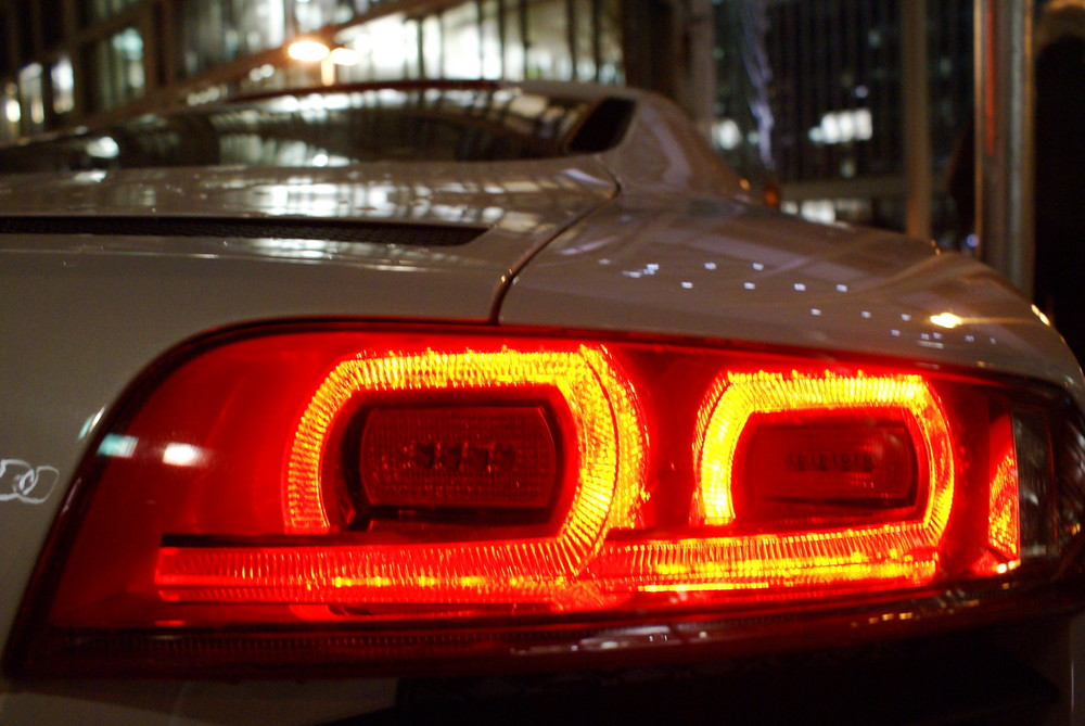 Audi R8 Rückleuchten
