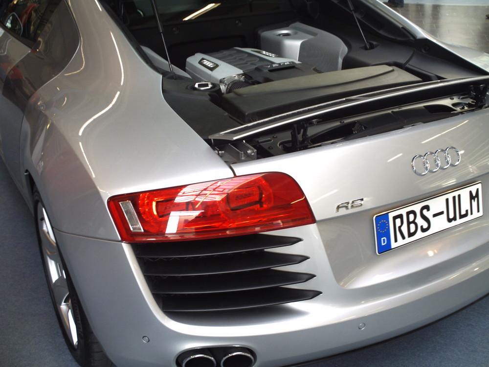 Audi R8 von hinten
