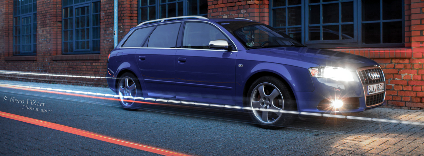 Audi S4 ins rechte Licht gestellt