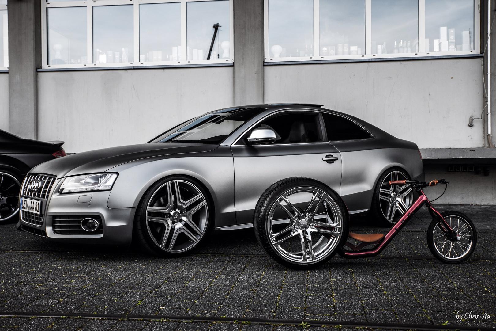 Audi S5 & Low Pipe Cruiser
