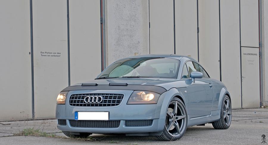 Audi TT als HDR