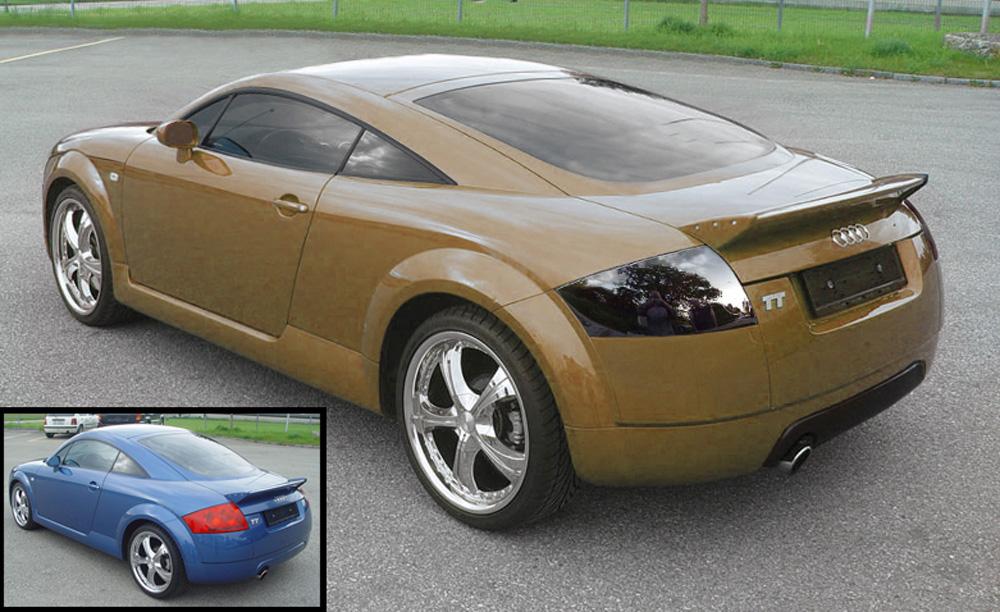 Audi TT gechopt (Reloaded)