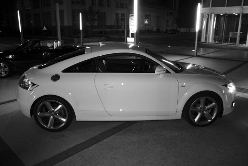 Audi TT in S/W oder doch W