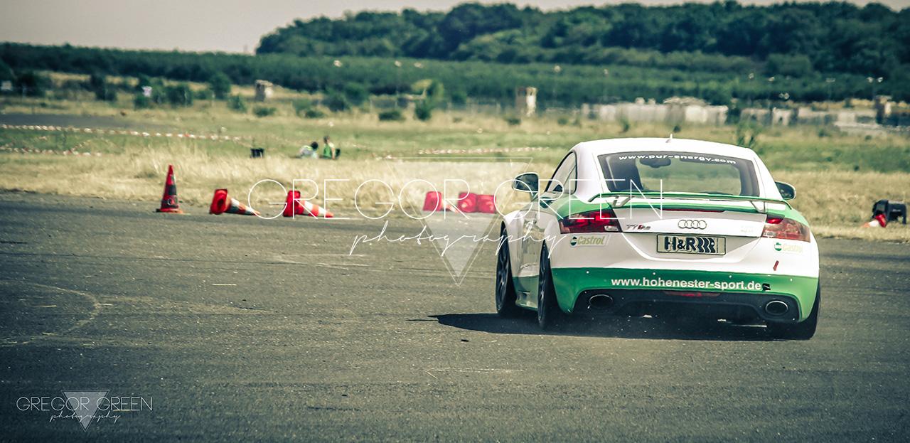 Audi TTRS Slalom