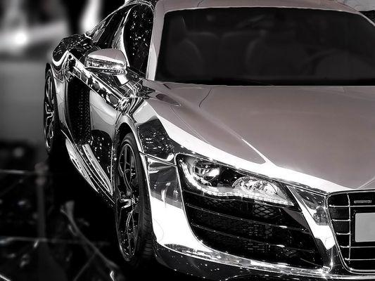 Audis neuester Silberpfeil...