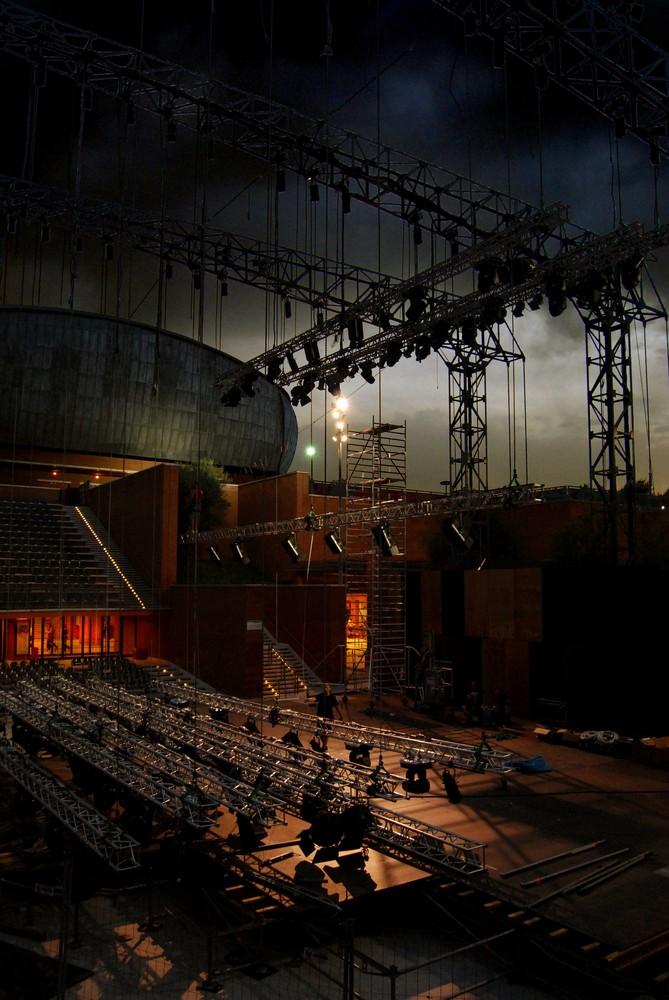 Auditorium at work