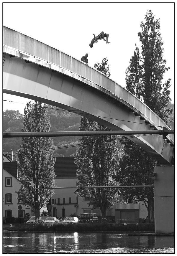 Auerbach vom Steg in Veitshöchheim