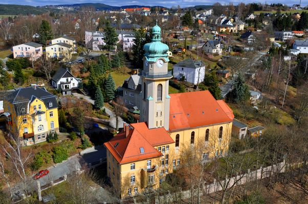 Auerbach/Vogtland - katholische Kirche