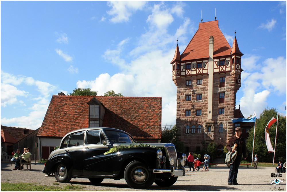 Auf Burg Abenberg