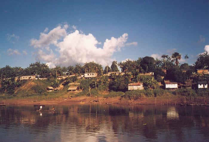 Auf dem Amazonas bei Manaus
