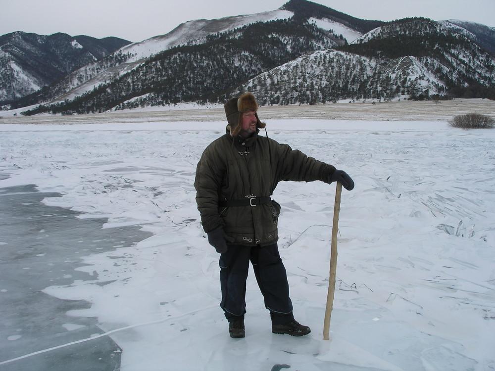 auf dem Baikalsee