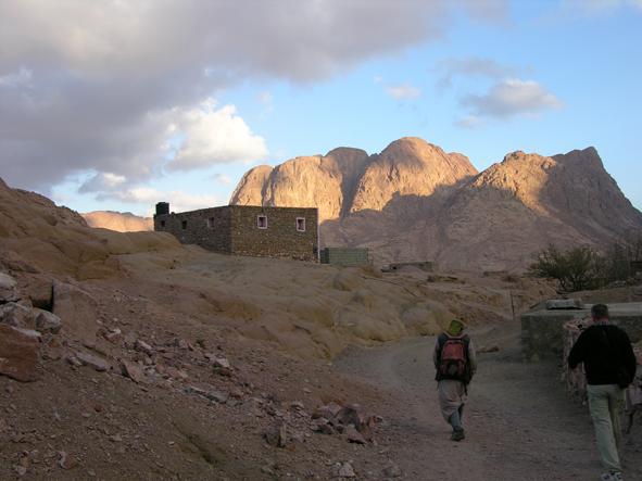 Auf dem Beduinen-Trail am Mount Horeb-Sinai.
