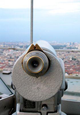 Auf dem Berliner Funkturm
