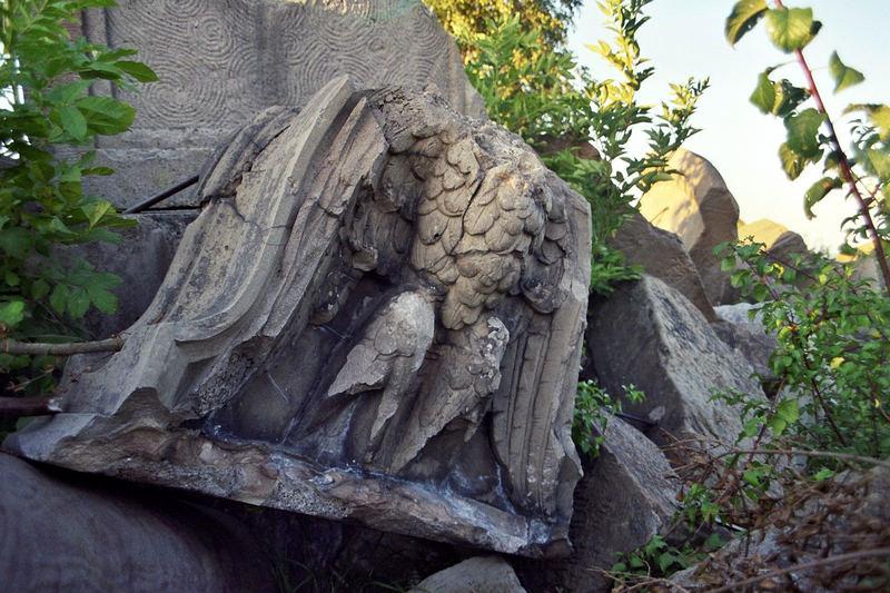 Auf dem Birkenkopf - Der zerbrochene Adler