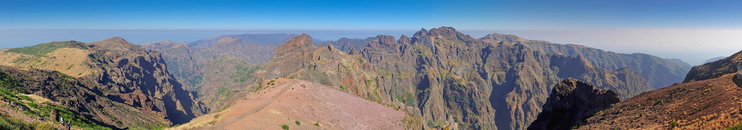 Auf dem Dach Madeiras
