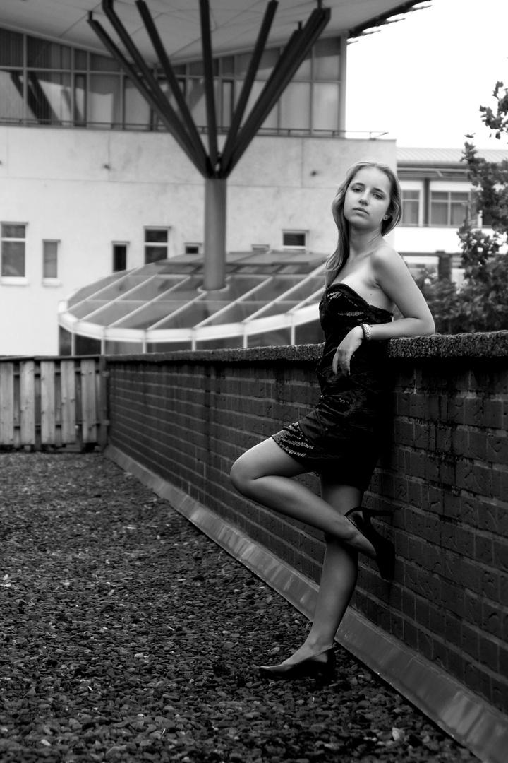 Auf dem Dach - Sarah