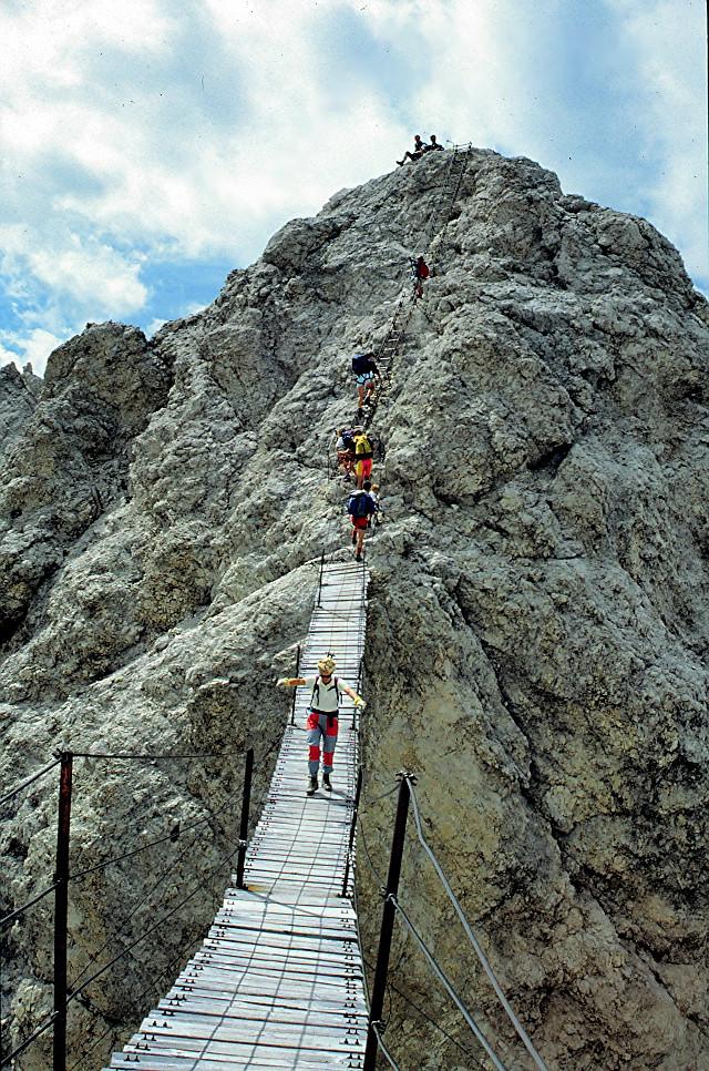 Auf dem Dibonaweg zum Mt.Cristallo