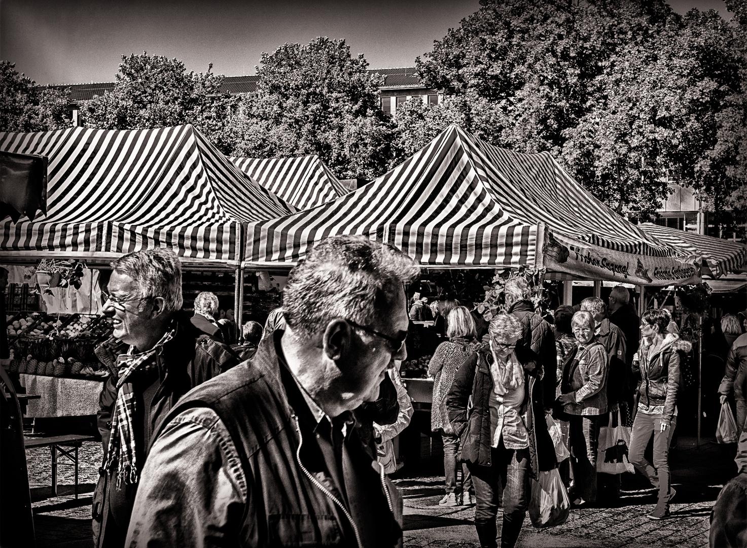 auf dem Dortmunder Wochenmarkt