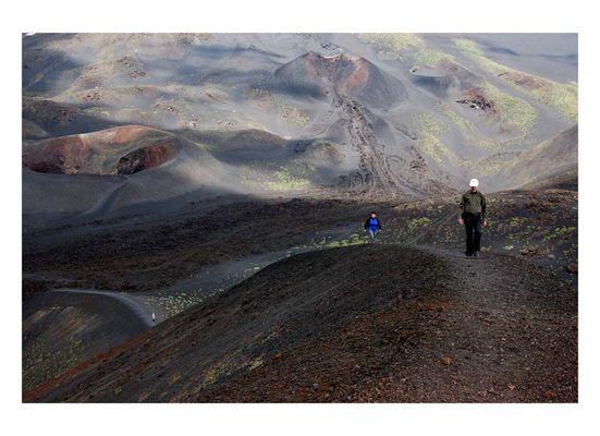 auf dem Etna...