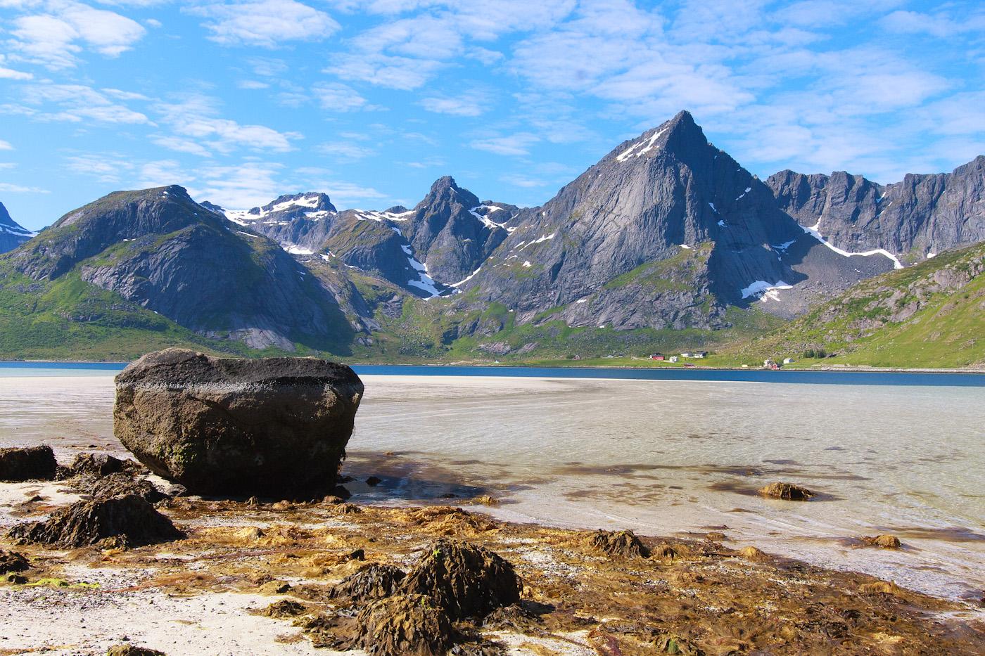 Auf dem Fjordgrund
