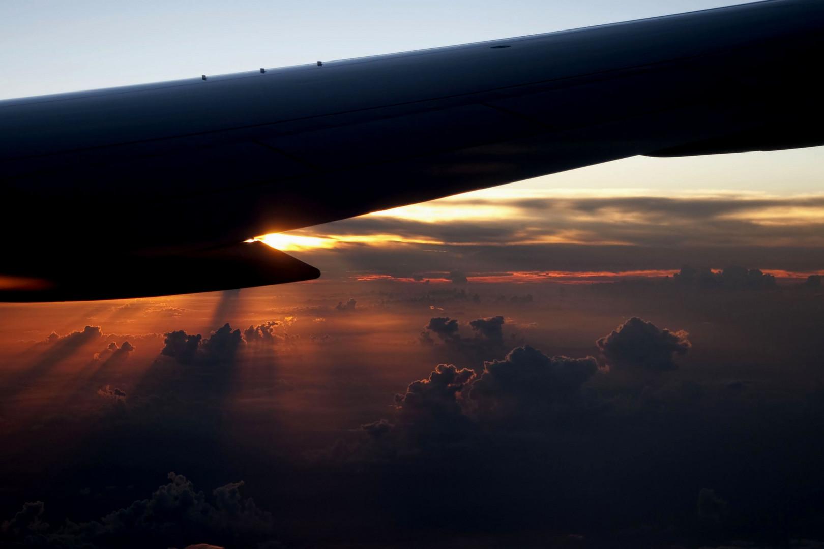 Auf dem Flug zu Perle der Karibik CUBA 1