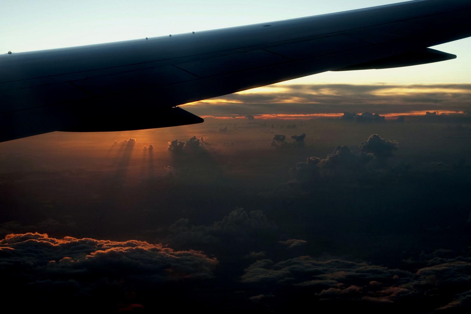 Auf dem Flug zu Perle der Karibik CUBA 2