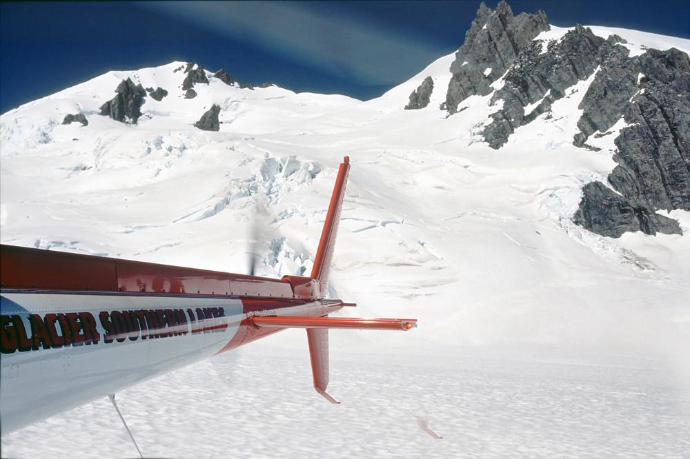 Auf dem Fox Glacier(Neuseeland)