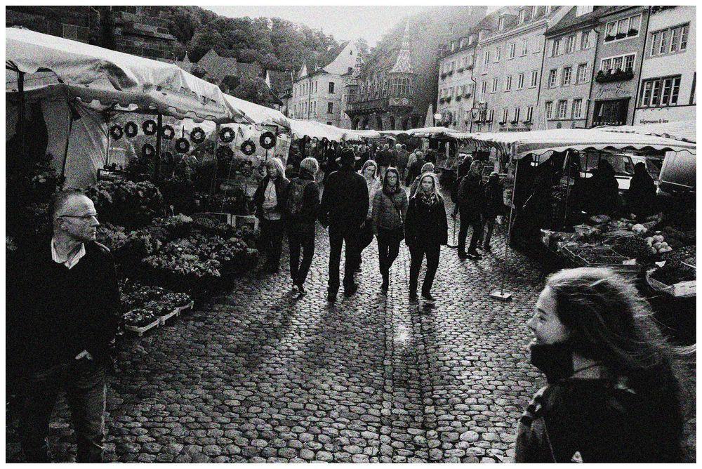 Auf dem Freiburger Münstermarkt