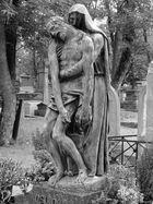 Auf dem Friedhof Père Lachaise in Paris