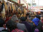 Auf dem Fruehlingsfestmarkt in Kunming: Yakfleisch