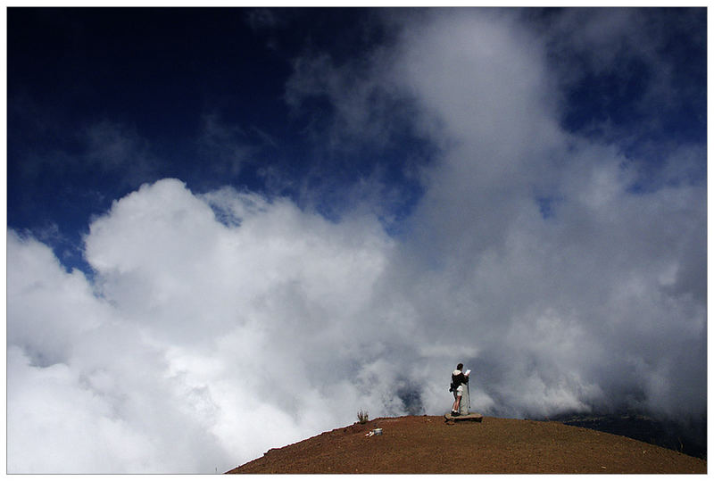 Auf dem Gipfel des Pico Birigoyo