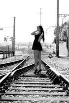 Auf dem Gleis