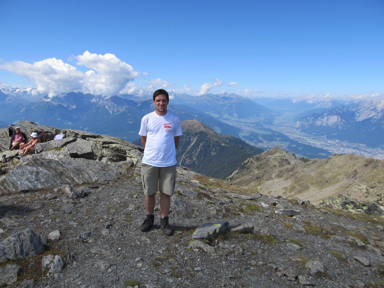 Auf dem Glungezer 2677 Meter in den Tuxer Alpen