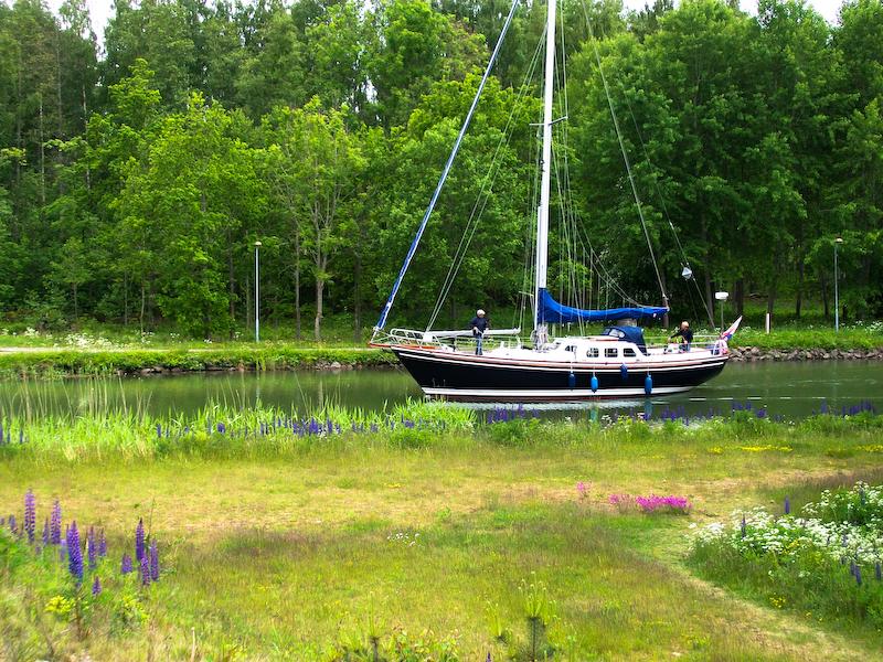 Auf dem Götakanal
