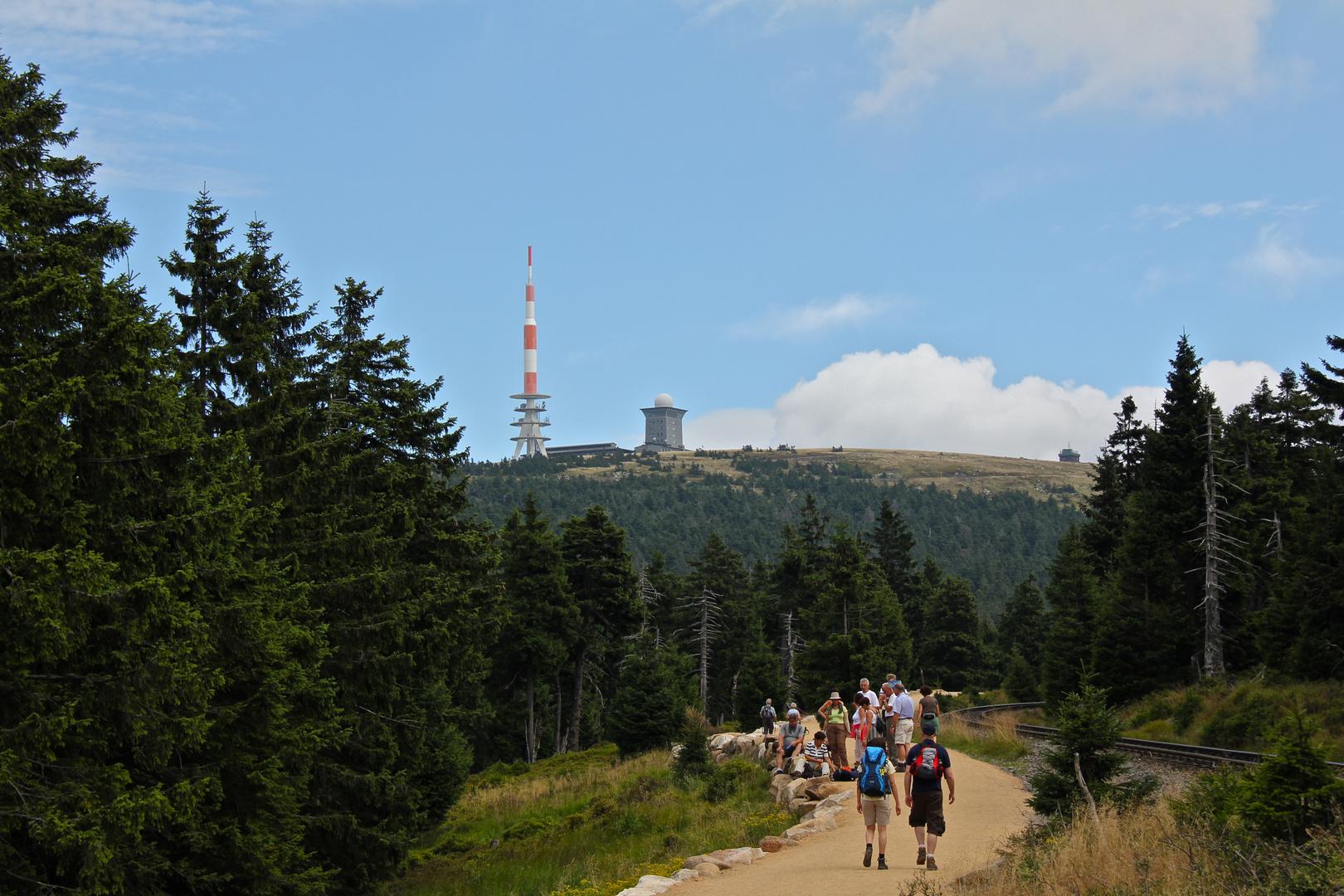 Auf dem Goetheweg zum Brocken