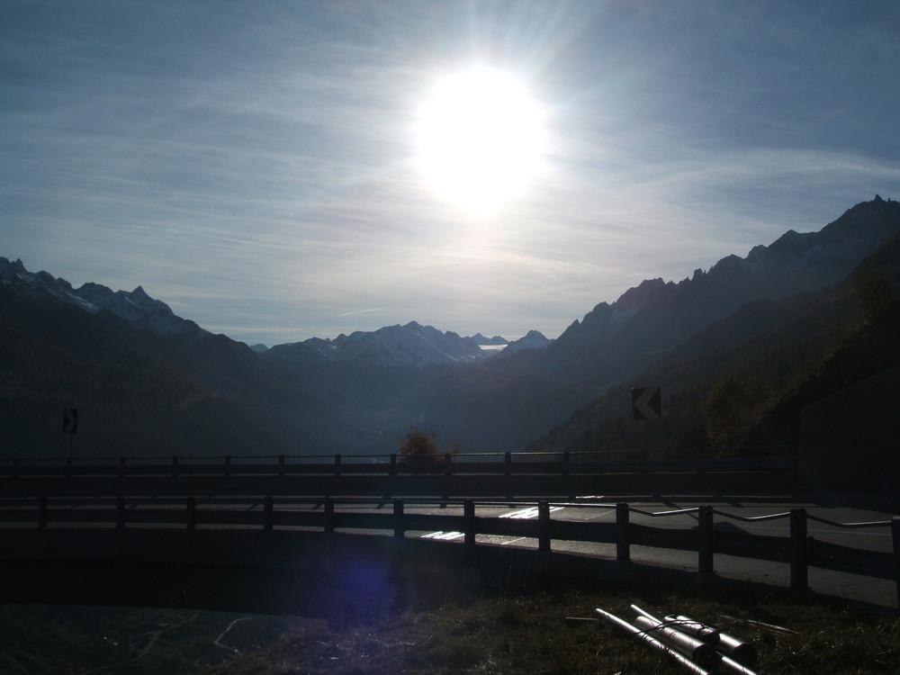 Auf dem Gotthardpaß
