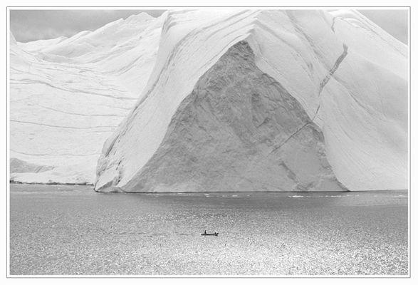 Auf dem Heimweg (Ilulissat Kangerlua, Grönland)