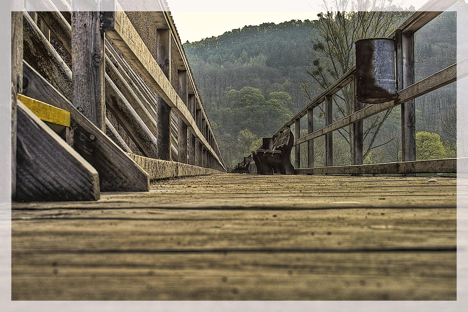 Auf dem Holzweg